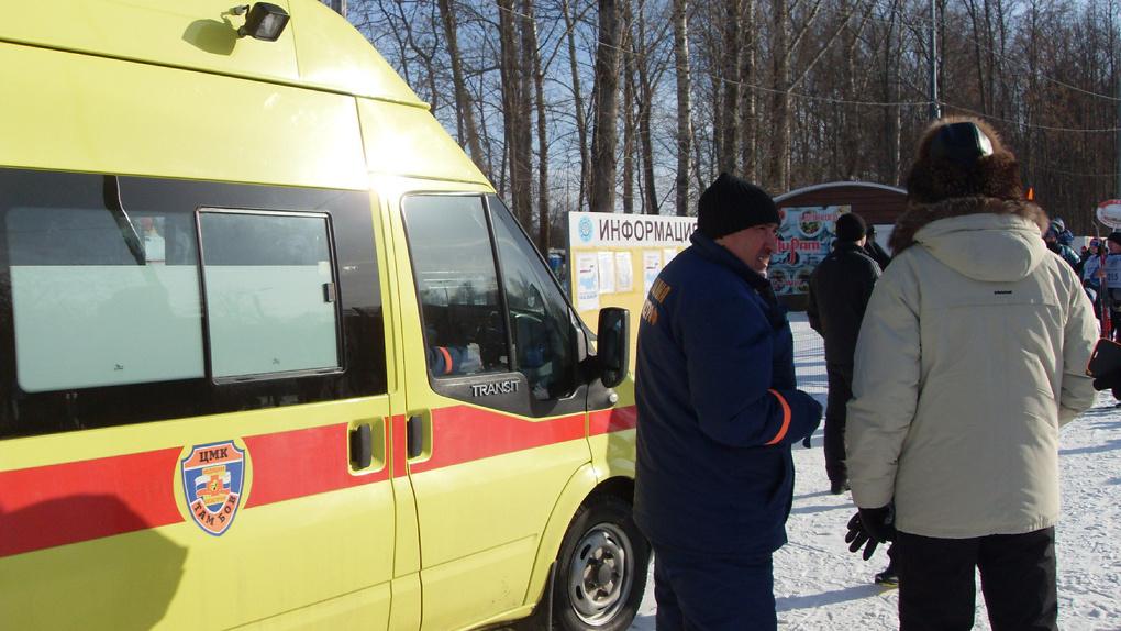 Во время «Лыжни России» в Тамбове одного человека пришлось доставить в травмпункт
