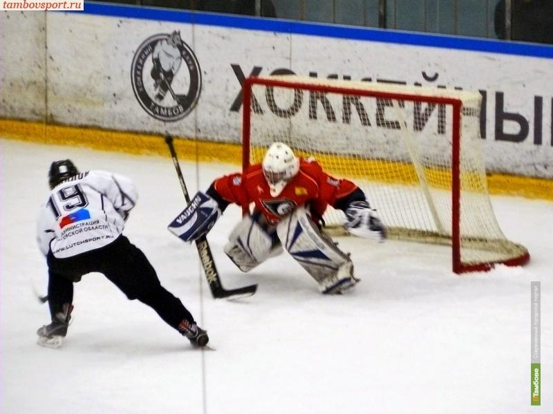 ХК «Тамбов» упустил победу в Новочебоксарске
