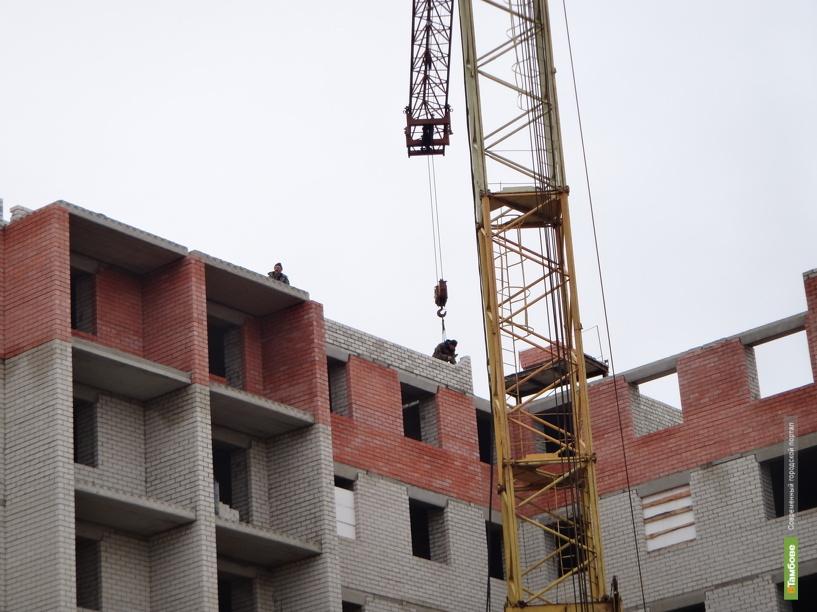В Тамбове незаконно строят многоэтажку