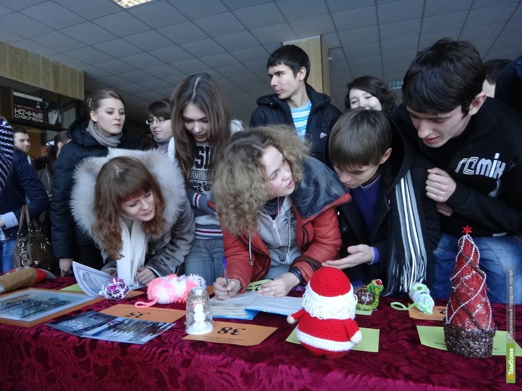Студенты ТГТУ написали письма Деду Морозу