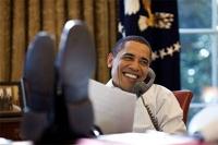 Обама позвонил Путину и поздравил его с победой на выборах