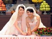 На Тайване прошла первая однополая буддистская свадьба