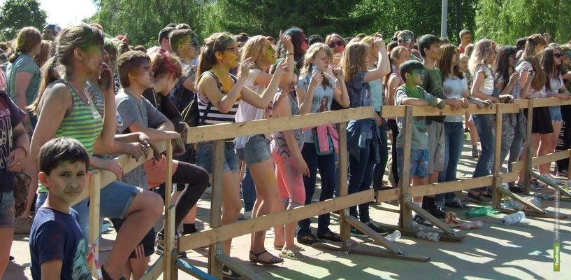 В Тамбове состоялся отвоёванный молодёжью фестиваль красок