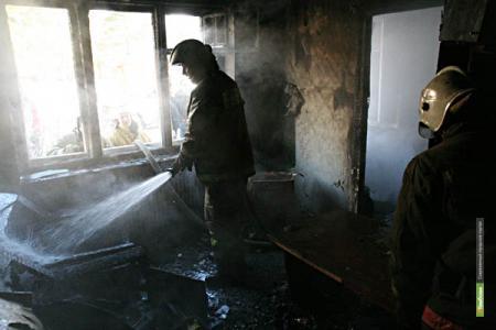 Житель Котовска погиб в огне