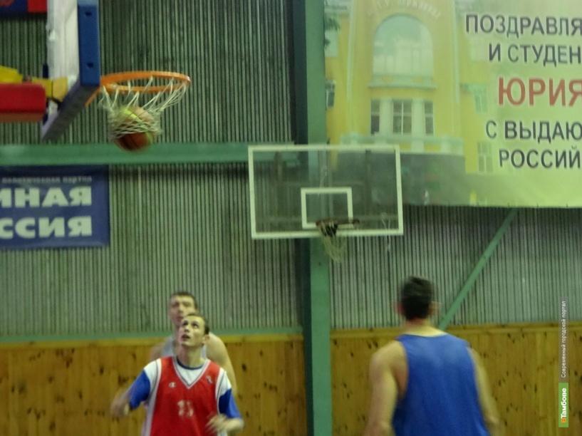 Очередная игра БК «Тамбов» закончилась победой