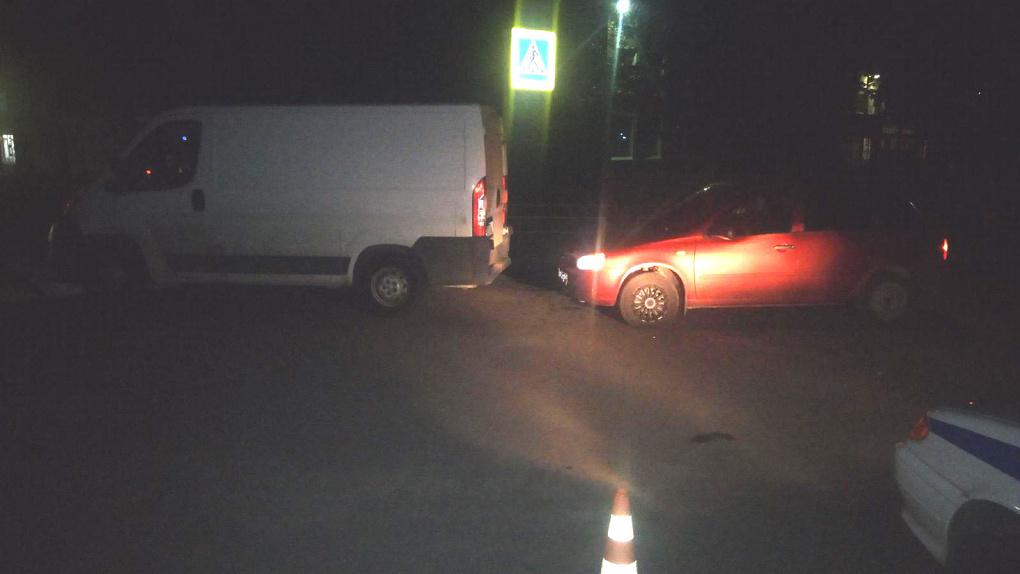 Врезался в стоящий автомобиль: в Мичуринске пострадала 2-летняя девочка