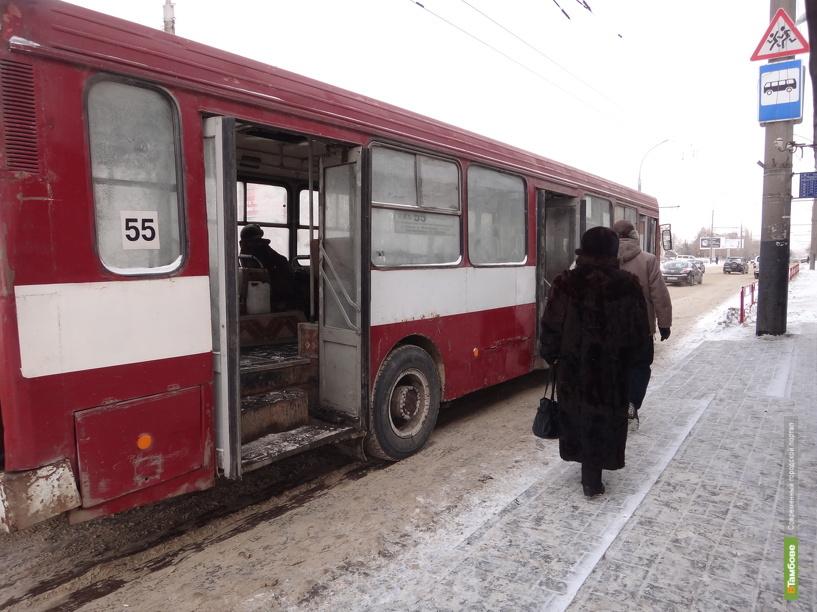 В Тамбове транспортники усилят меры безопасности