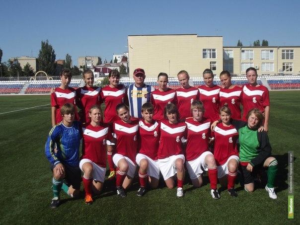 Женская команда «Академии футбола» стала аутсайдером сезона