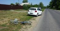 Под Мичуринском Volkswagen столкнулся с велосипедом