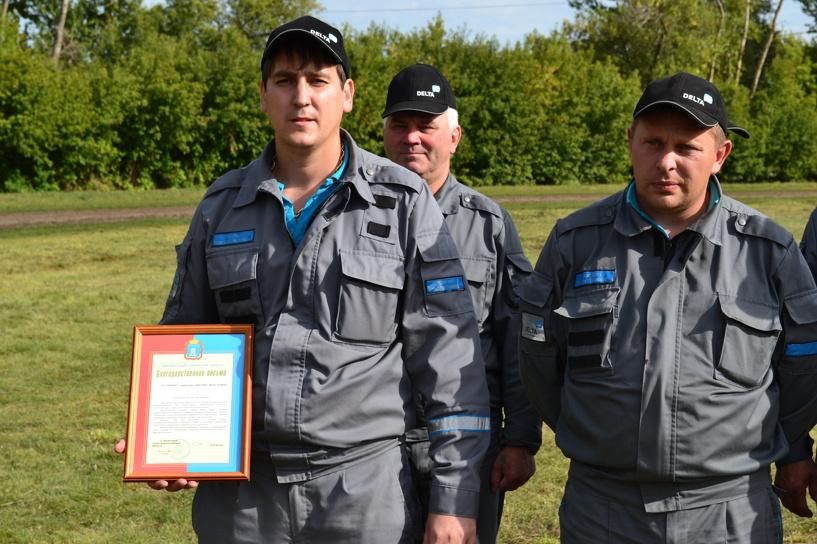 В Тамбове эффектно отметили День патрульно-постовой службы