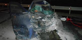 На трассе под Тамбовом столкнулись два автомобиля: есть погибший