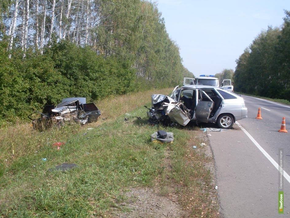 За неделю в ДТП на Тамбовщине пострадал 71 человек