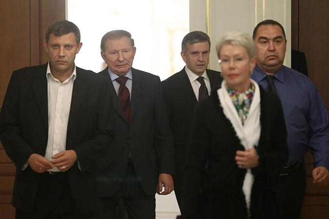 Донецкая и Луганская области получат особый статус в составе Украины
