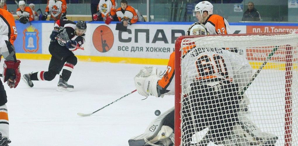 Тамбовские хоккеисты одержали крупную победу в сезоне