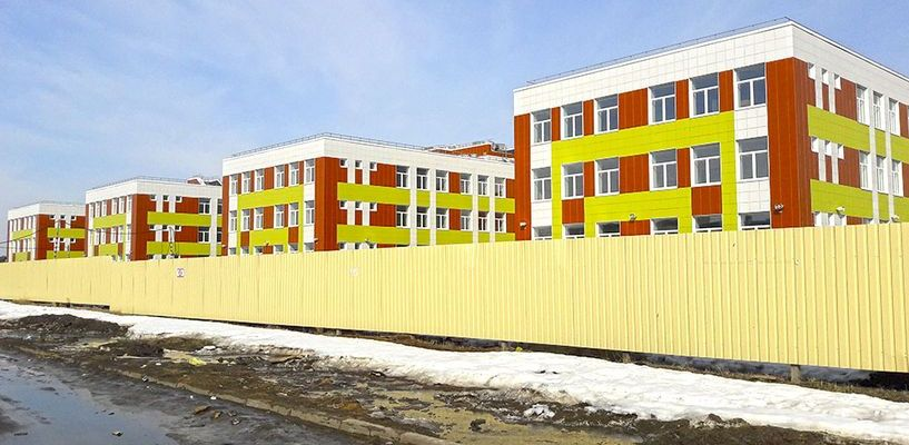 Школа Сколково в Тамбове: почти все готово