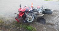 В Донском мотоциклист не вписался в опасный поворот