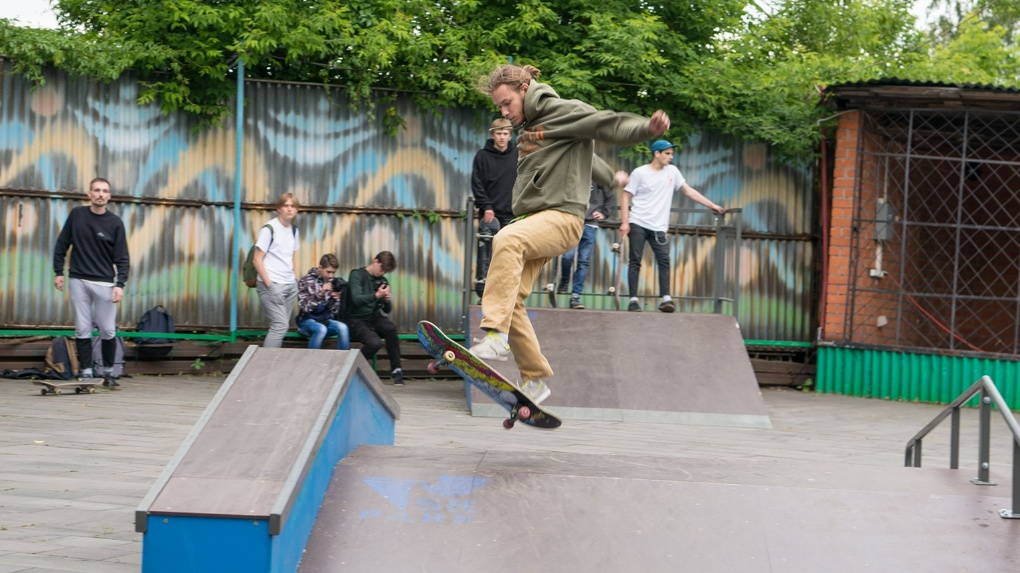Новый спот: в Мичуринске появился свой маленький рай для скейтеров