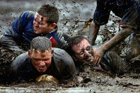 Россияне выиграли чемпионат мира по футболу на болоте