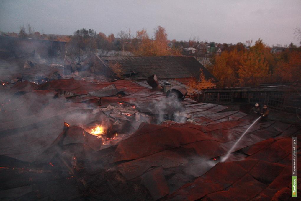 Тамбовские спасатели за сутки пять раз выезжали на пожар