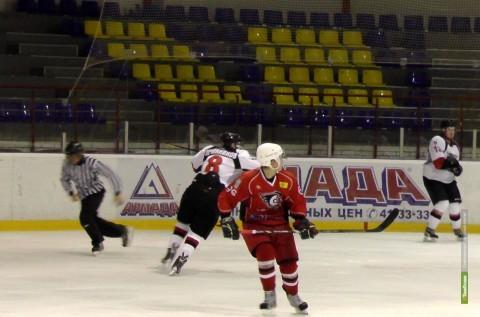 «Сокол» отнял у тамбовских хоккеистов вторую победу