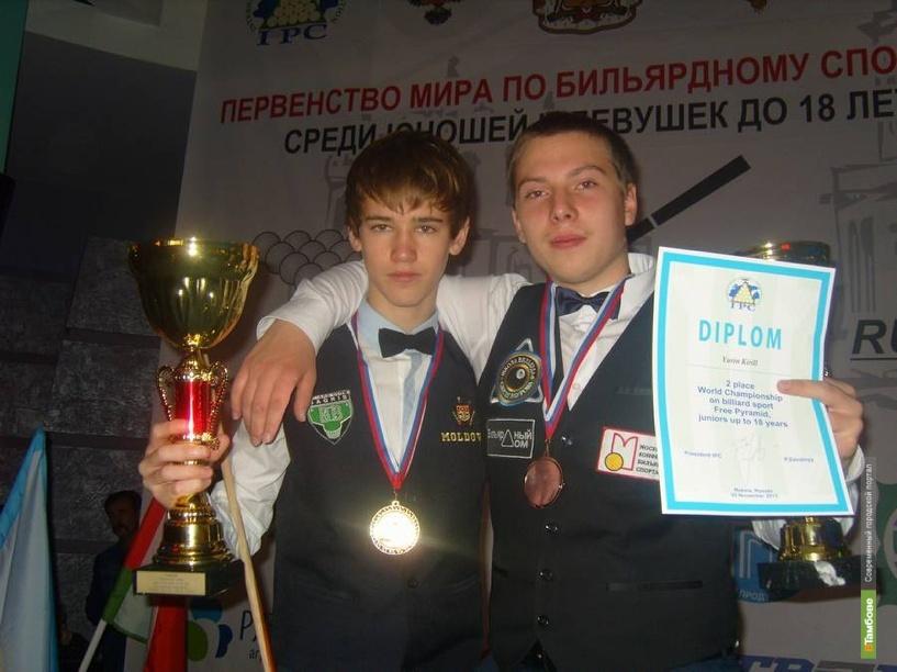 Тамбовчанин стал вторым на мировом первенстве по бильярду