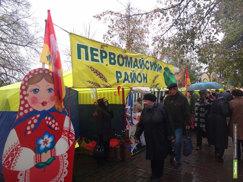 В Тамбове развернулась Покровская ярмарка