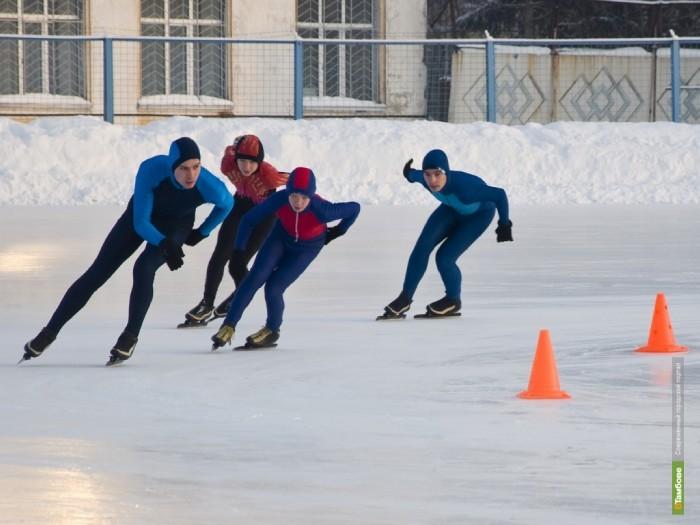 Тамбовские конькобежцы устроят забег на открытом воздухе