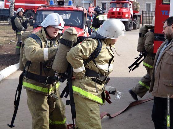 За день в Тамбовской области сгорели две бани