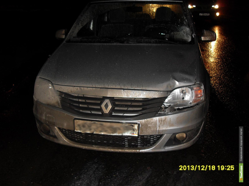 На улице Астраханской на «зебре» сбили женщину