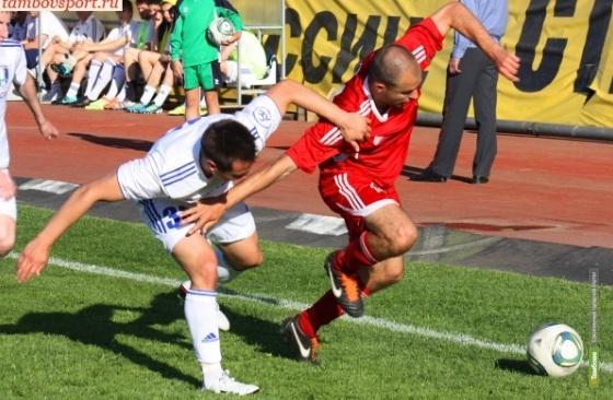 Футболисты из Тамбова всухую проиграли «Калуге»