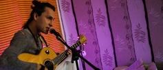 Поэт и рок-бард Николай Антропов выступил в Тамбове