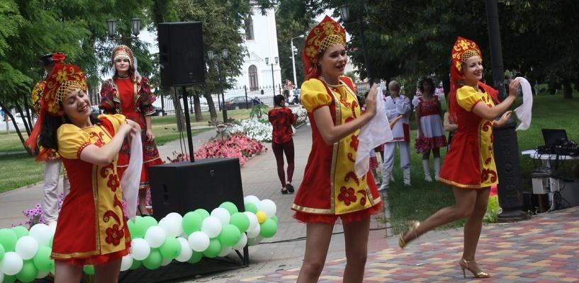 Парк культуры приглашает тамбовчан весело провести выходные