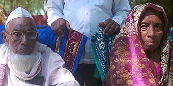 120-летний индиец женился на своей 60-летней возлюбленной