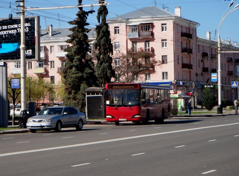 В Тамбове заработал новый автобусный маршрут