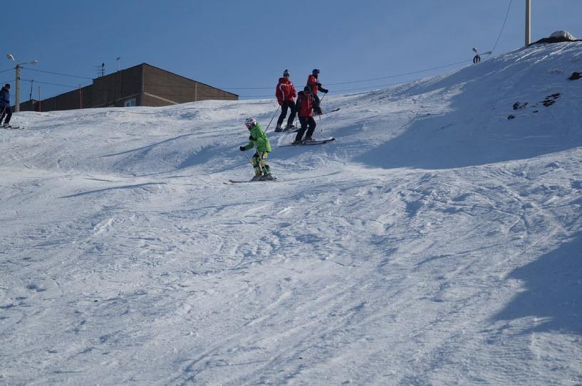Горнолыжный спуск в Ласках ждет посетителей