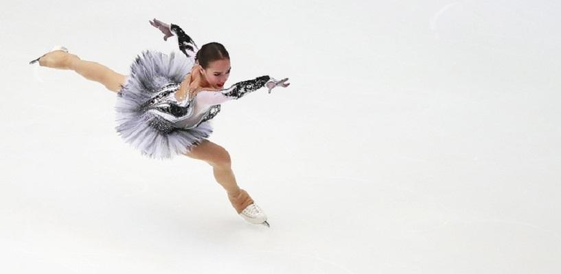Российская фигуристка Алина Загитова выиграла этап Гран-при в Китае
