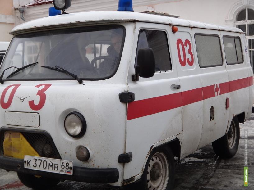 В Тамбовском районе автобус придавил водителя