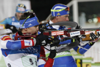 Российские биатлонисты взяли «серебро» на этапе Кубка мира