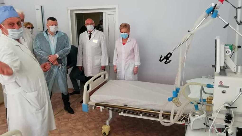 120 дополнительных коек для лечения больных с коронавирусом развернули в городе Уварово