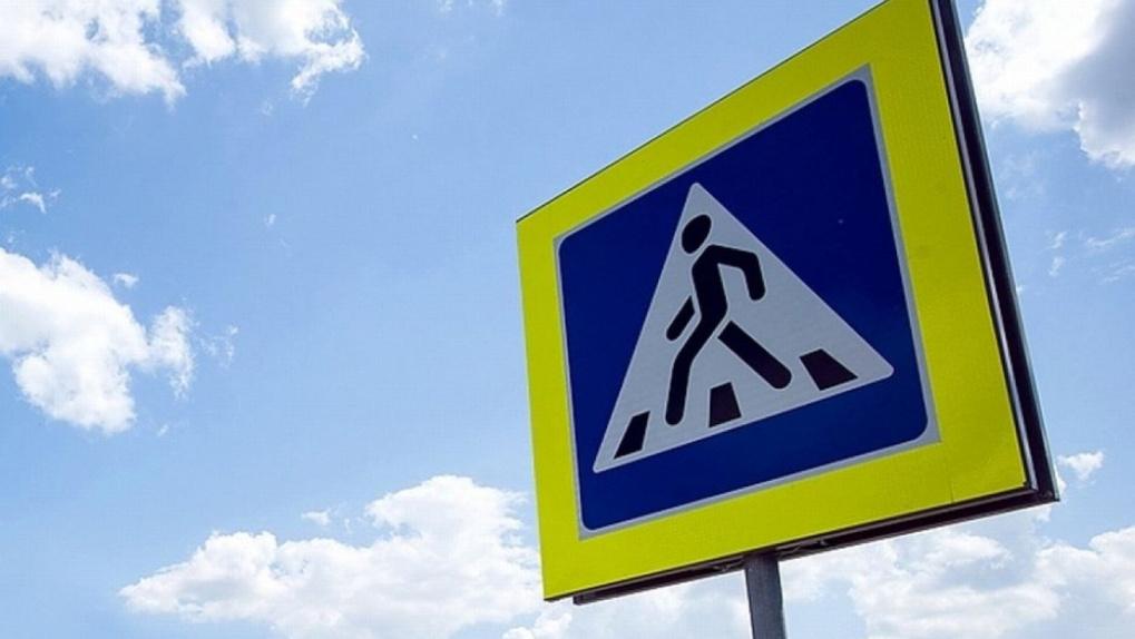 Новый пешеходный переход для тамбовчан: он появился на улице Комиссара Московского