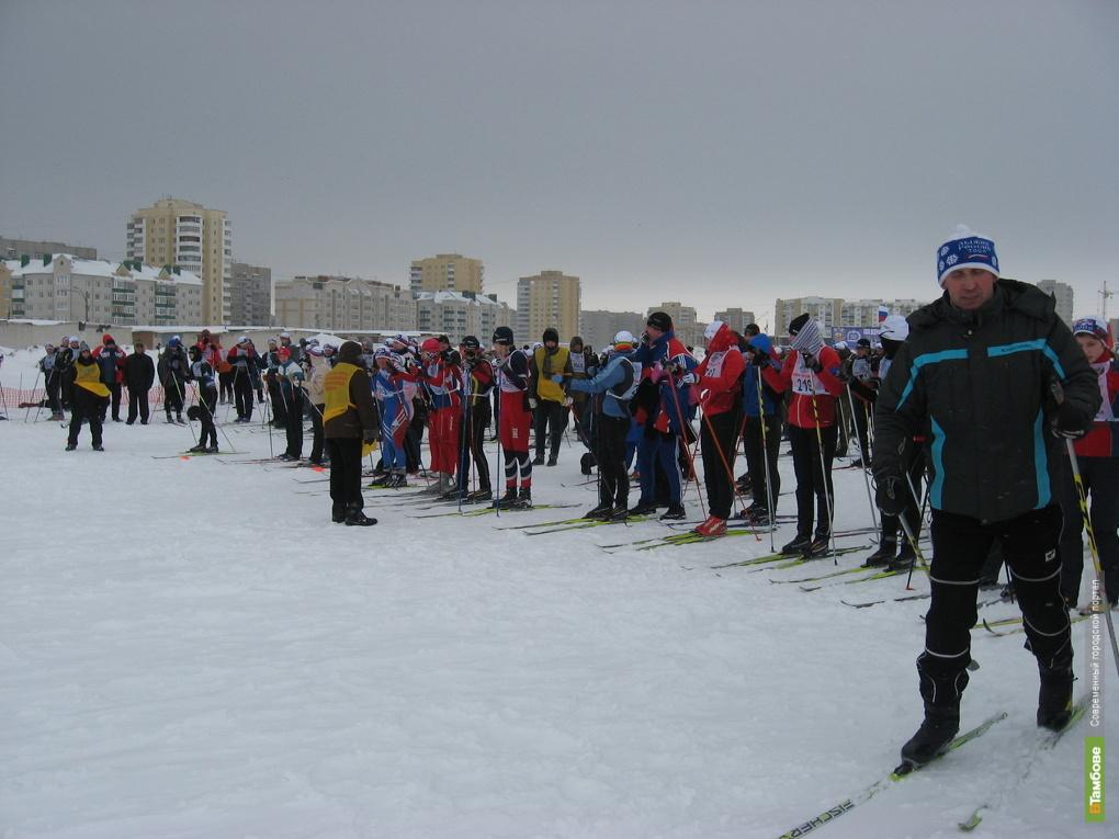 Тамбовчане всё-таки выйдут на «Лыжню России»