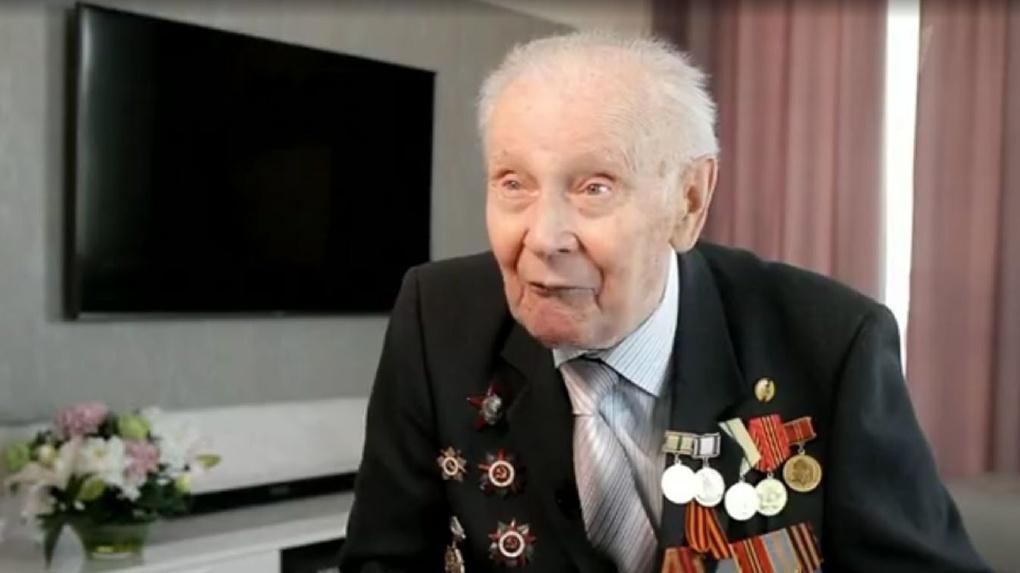 Тамбовский ветеран рассказал о Берлинской наступательной операции на Первом канале