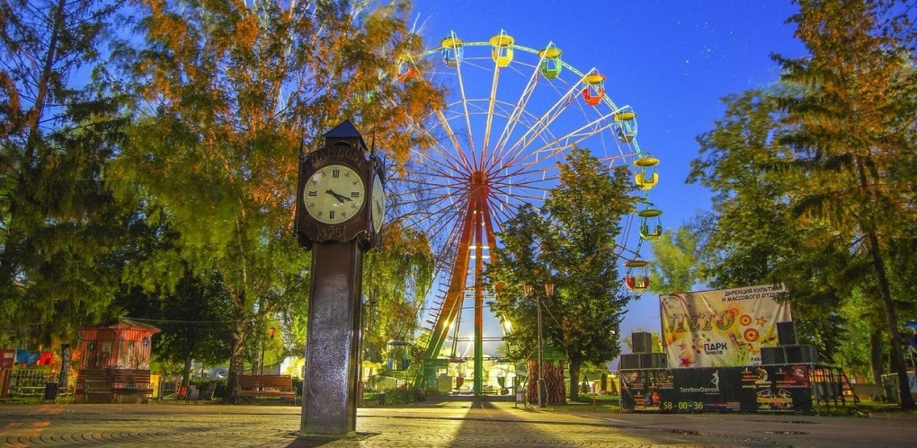 Заявок много, победитель один: в Тамбове выберут лучший проект сцены в парке культуры