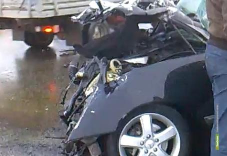 Молодые липчане попали в аварию на тамбовской дороге