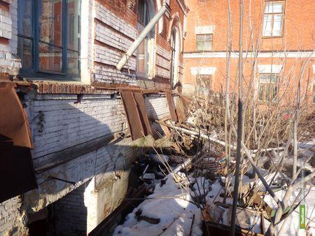 В центре Тамбова разрушился фундамент жилого дома