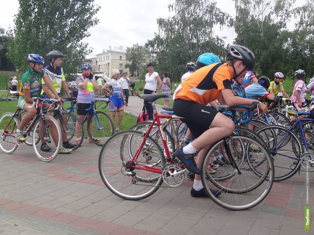 ВТамбове прошёл велотурнир «Солнце на спицах»