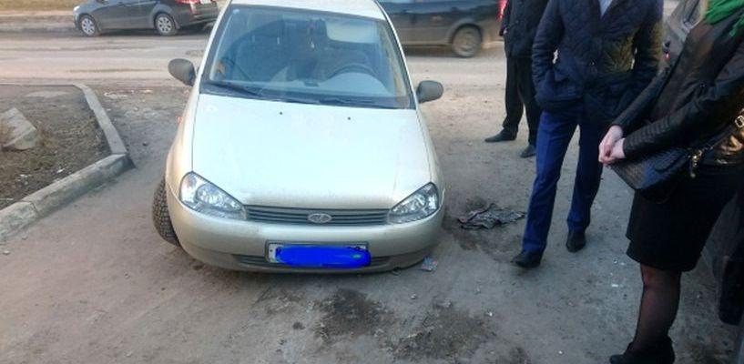 Специалисты выяснили, почему машина провалилась под асфальт на Куйбышева