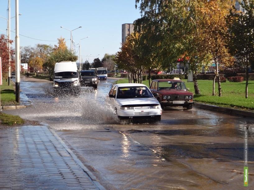 Север Тамбова остался без воды из-за серьезной коммунальной аварии