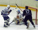 """ХК """"Тамбов"""" обыграл на своем льду брянских хоккеистов"""