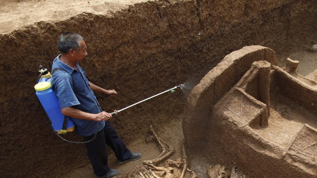 Археологи в Китае нашли артефакты старше 4 тысяч лет